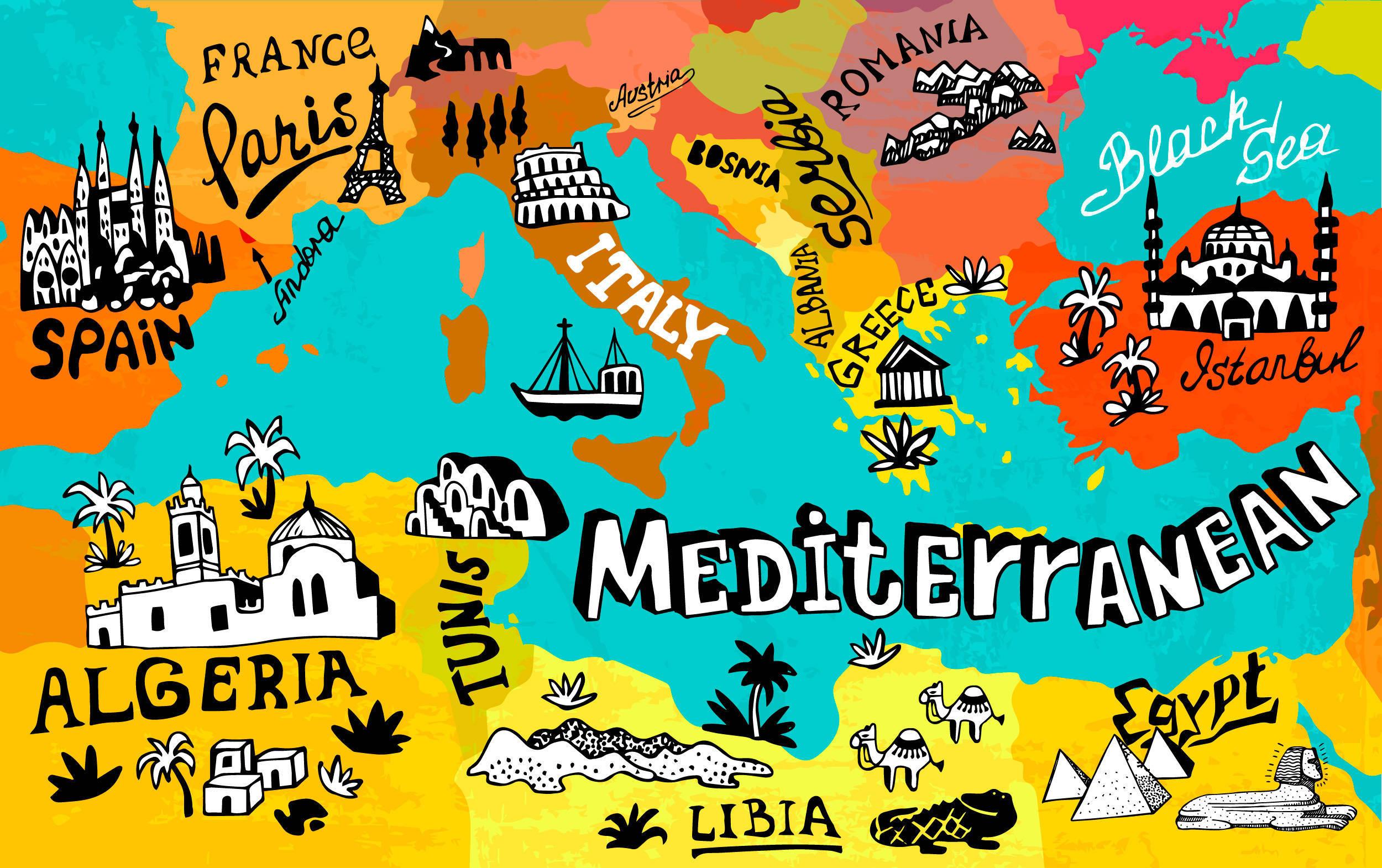 La situación geopolítica en el Mediterráneo