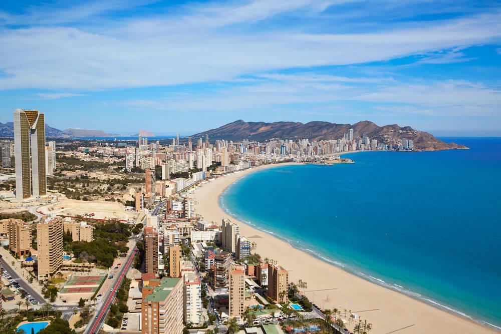 Benidorm, la tercera ciudad española con más plazas hoteleras
